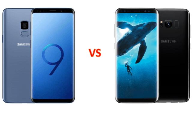 Comparing Samsung Galaxy S9S9+ & Galaxy S8S8+