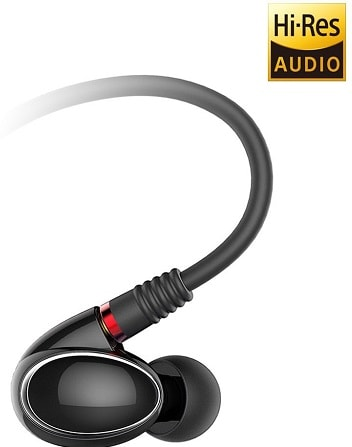 FiiO FH1 Dual Driver Hybrid In-Ear Monitors with Mic and In-Line Remote
