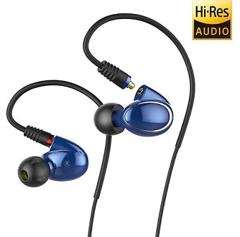 FiiO FH1 Dual Driver Hybrid In-Ear Monitors with Mic