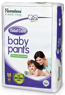 Himalaya Total Care Medium Size Baby Pants Diapers