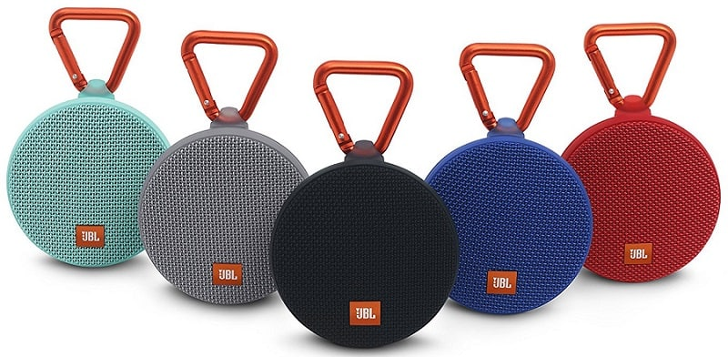 JBL Clip 2 Portable Wireless Bluetooth Speaker with Mic