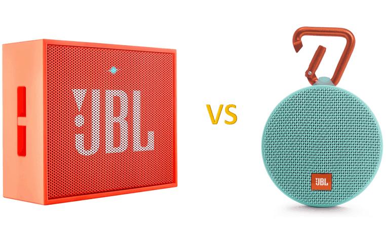 JBL GO vs JBL Clip 2