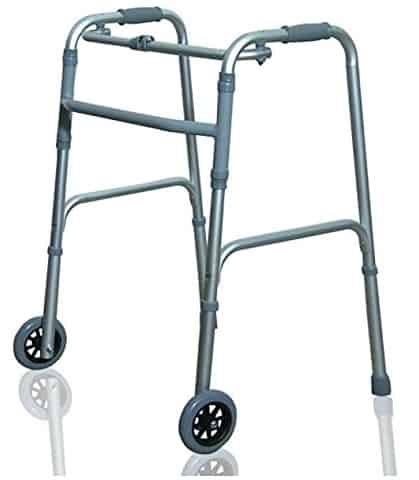 JSB Folding Walker with Adjustable Height