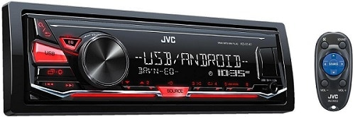 JVC Digital Media Receiver with Front USB AUX Input