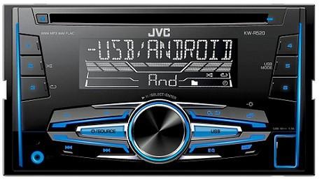 JVC MOS-FET 50W x 4 2-DIN CD Receiver