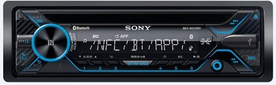 Sony MEX-N4200BT Car Stereo Single Din