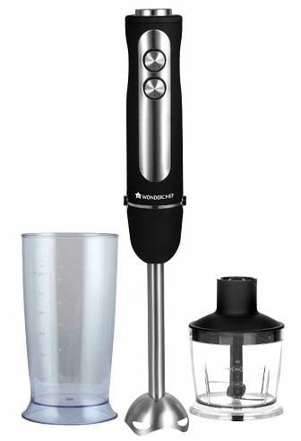 Wonderchef Eleganza 63152253 550-Watt 2-in-1 Hand Blender