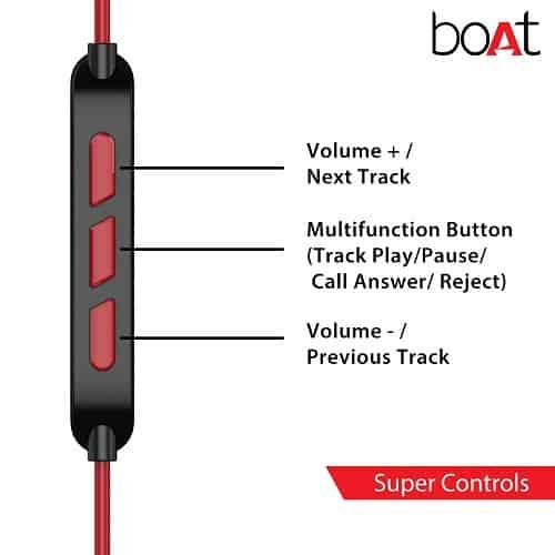 boAt Nirvanaa Tres Triple Drivers Earphones Microphone