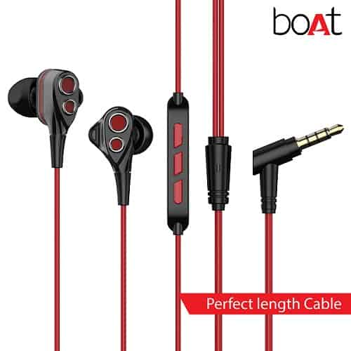 boAt Nirvanaa Tres Triple Drivers Earphones with Mic