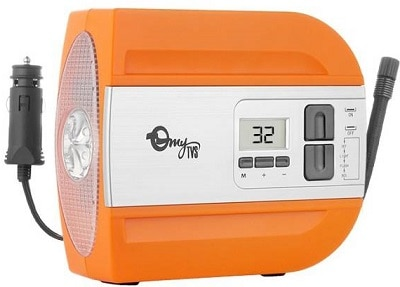 myTVS 80 psi Tyre Air Pump for Car & Bike