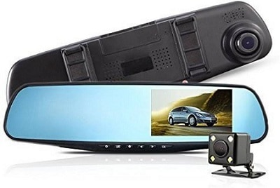 Alria Backup Dash Cam Car Recorder