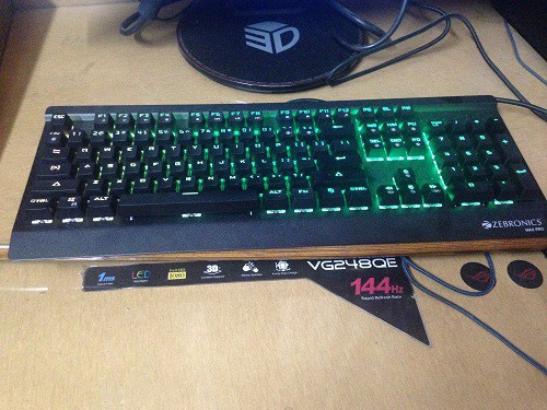 Max Pro Gaming Keyboard