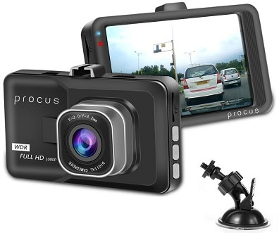 Procus Convoy Car Dash Camera