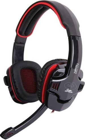 Zebronics Iron Head 7.1 Multimedia Gaming Wired Headset