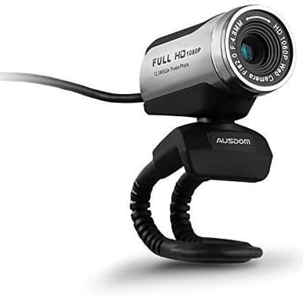 AUSDOM 1080P HD USB Webcam