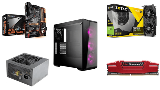 Best Gaming PC Build Assembly Under Rs. 1,00,000 in India