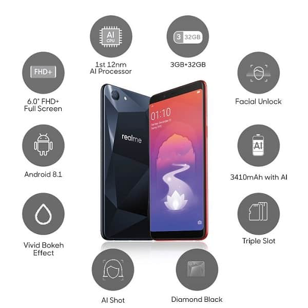 Oppo Real Me Smartphone