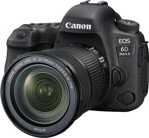 Canon Eos 6D Mark II 26.2MP Digital SLR Camera
