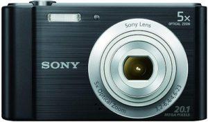 Sony DSC-W800 20.1 MP Point and Shoot Digital Camera