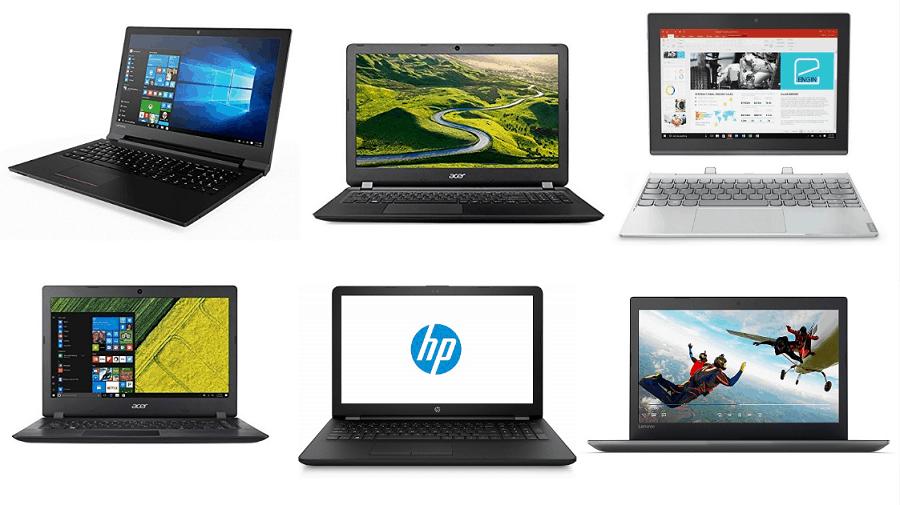 Top 10 Best Budget Laptops Under Rs. 20,000