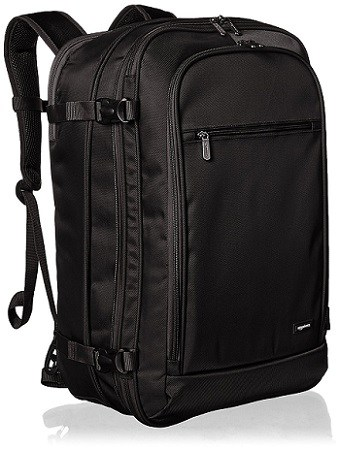 AmazonBasics 46 Ltrs Carry-On Travel Backpack