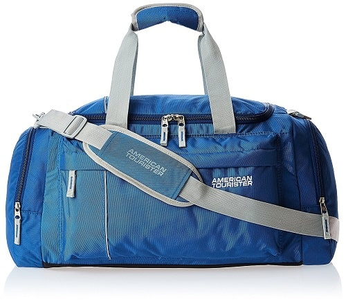 American Tourister Nylon 55 cms Blue Travel Duffle Bag