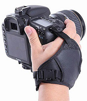 PU Leather Soft Camera Hand Grip Wrist Strap