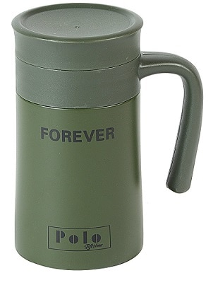 Polo Lifetime Double Walled Stainless Steel Vaccum Mug