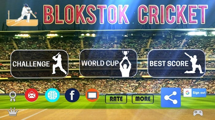 Review of Blokstok Cricket for Android