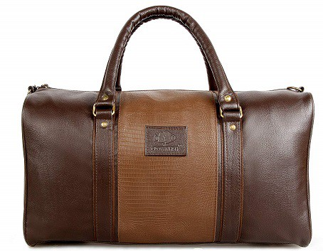 The Clownfish Ambiance Series Unisex Synthetic Brown Duffle Travel Bag