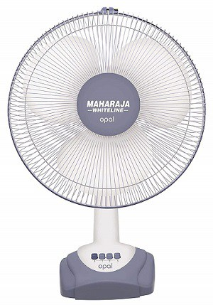 Maharaja Whiteline Opal 55-Watt Table Fan