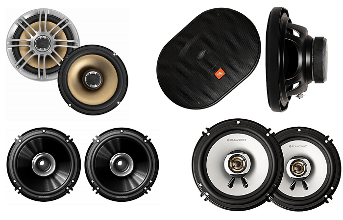 10 Best Car Coaxial Speakers in India (2019) - Review | Shubz