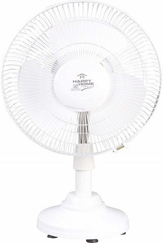 Varshine Happy Home All Purpose Mini Pedestal Fan