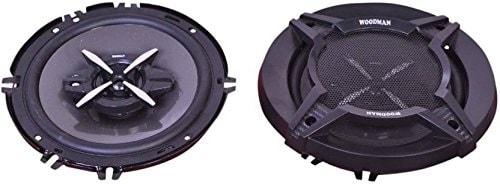 Woodman WM-1652 6-inch 280-Watt 3-Way Co-Axial Speakers