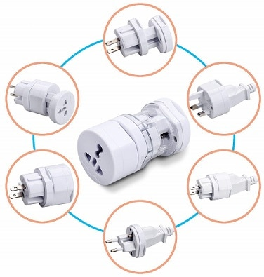 Sharp Plus International Travel Adapter All In One