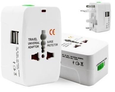 TECH SHOP Universal Adapter Worldwide Travel Adapter