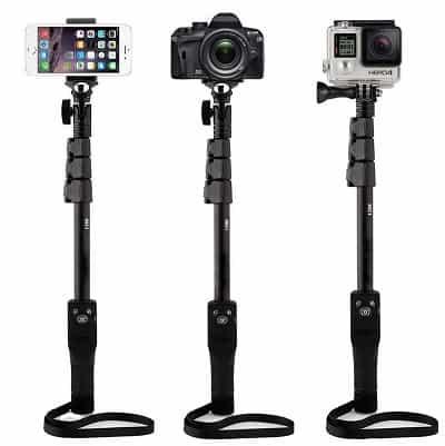 Unifree YT-1288-A Bluetooth DSLR Selfie MonoPod