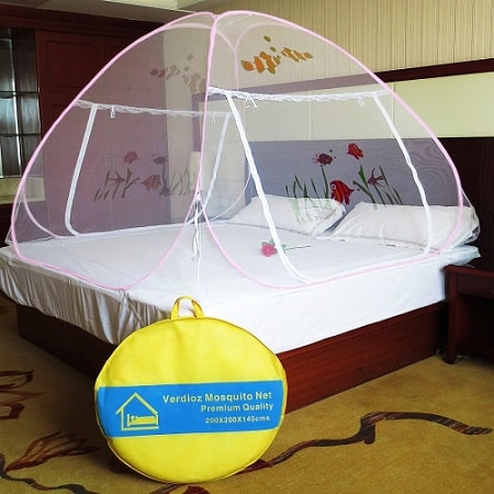 Verdioz Fish Printed Foldable Mosquito Net