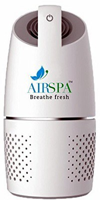 Airspa With Device Car Air Purifier With Hepa & Ioniser