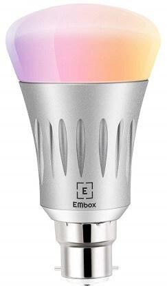 EMbox WiFi Smart LED Bulb