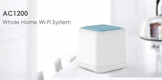 EWOKIT (Pack of 3) Whole Home Mesh WiFi System