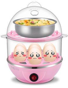 Egab ABS Plastic Double Layer Egg Boiler