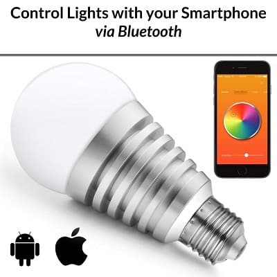 Mansaa Smartshine - Bluetooth Wireless Smart Led Bulb