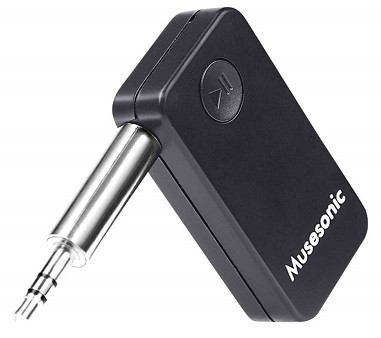 Musesonic Aux Bluetooth Stereo Audio Receiver