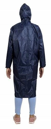 Zacharias Women's Polyester Long Rain Coat
