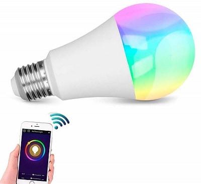 lovelyhome Smart WiFi RGB 10W LED Bulb