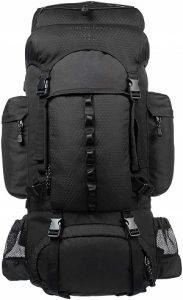 AmazonBasics Internal Frame (Hardback) Hiking Backpack with Raincover