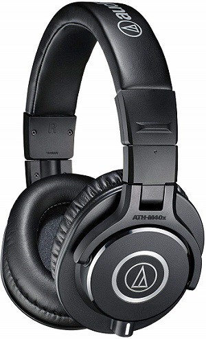 Audio-Technica ATH-M40X Professional Studio Monitor Over-ear Headphones