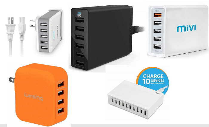Best Multiport USB Wall Chargers