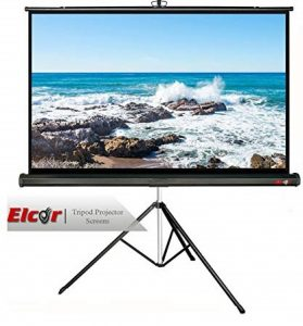 Elcor Tripod Type Projector Screens